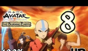 Avatar The Last Airbender: Burning Earth Walkthrough Part 8 | 100% (X360, Wii, PS2) HD