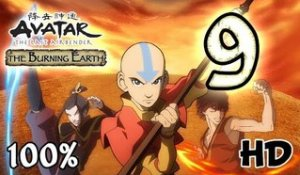 Avatar The Last Airbender: Burning Earth Walkthrough Part 9 | 100% (X360, Wii, PS2) HD