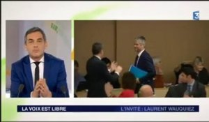 Laurent Wauquiez plante France 3, un journaliste le tacle en direct