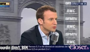 Bourdin direct - Emmanuel Macron, son chef c'est François Hollande