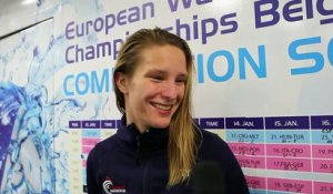FFN - Euro water-polo 2016: Interview de Géraldine Mahieu après France-Serbie