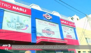 "Violences en Tunisie: ""saccages et pillages"" dans le Grand Tunis"