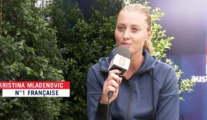 Fed Cup 2016 : Kristina Mladenovic impatiente de disputer France - Italie