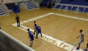 France: le buzzer beater incroyable de Bastien Thomasset