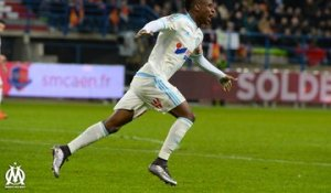 Caen 1-3 OM : le but de Bouna Sarr (82e)