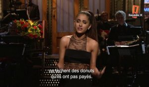 Ariana Grande ouvre le Saturday Night Live du 12/03