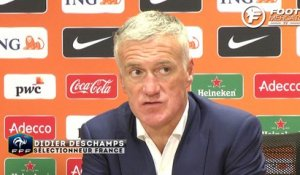 France : la réaction de Didier Deschamps
