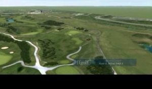 L'albatros du Golf National en 3D