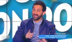 Cyril Hanouna reçoit un message de sa mère en direct !