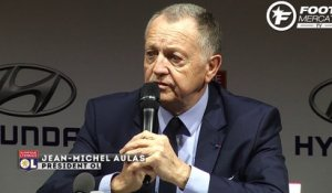 Aulas compare les business models de l'OL et du PSG