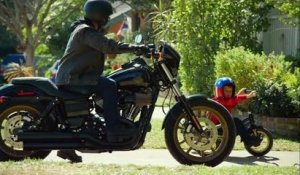 Father and son share same passion for big bikes