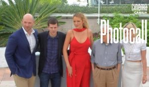 Woody Allen, Kristen Stewart (Cafe Society) - Photocall Officiel - Cannes 2016 CANAL+