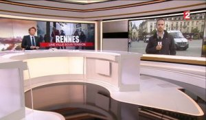 Rennes : le centre-ville sous tension