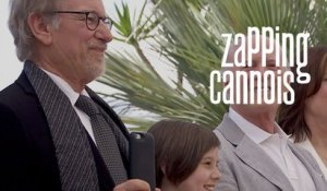 Zapping cannois avec Steven Spielberg, Bérénice Béjo - 14/05 Cannes 2016 CANAL+