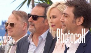 Sean Penn, Charlize Theron,  Javier Bardem, Adèle Exarchopoulos (THE LAST FACE) - Photocall Officiel - Cannes 2016 CANAL+