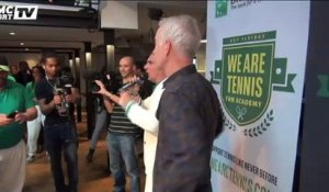"McEnroe fait le show à la ""We are Tennis Fan Academy"""