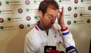 "Roland-Garros 2016 - Richard Gasquet : ""La surface m'a fait mal ce mercredi contre Andy Murray"""