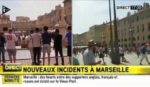 Marseille: Violents incidents depuis 16h30 entre supporters et CRS