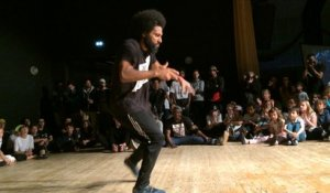 L'ouverture de la battle du festival de hip-hop