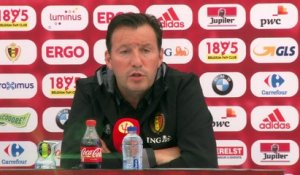 "Groupe E - Wilmots : ""Michy attend sa chance"""
