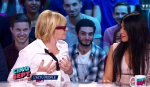 Chantal Ladesou se touche la poitrine en direct ! - ZAPPING TÉLÉ DU 29/06/2016 par lezapping