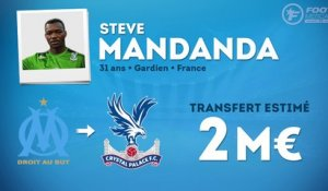 Officiel : Steve Mandanda file à Crystal Palace