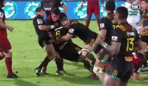 Super Rugby : les Chiefs battent les Crusaders à Suva