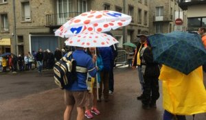Tour de France: le public attend les coureurs