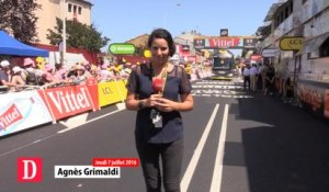 Flash info 7 juillet 2016 - Tour de France à Montauban