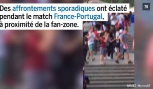 Euro 2016 : images des affrontements pendant le match France-Portugal