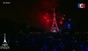 « Rencontres à Paris » - It's so quiet - Björk - Feu d'artifice @ Tour Eiffel Paris - 2016