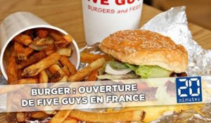 Burger: Ouverture de Five Guys en France