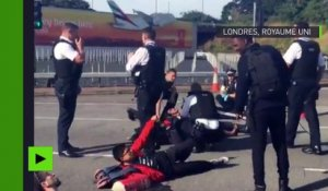 Londres : l'aéroport d'Heathrow bloqué par le collectif Black Lives Matter