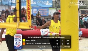 [Replay] Beach Volley Finale du Championnat de France - Dunkerque - Demi-Finale Homme 2