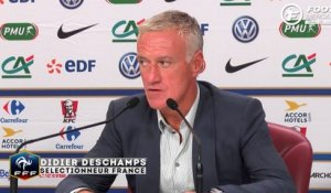 Deschamps justifie l'absence d'Evra