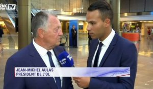 "Aulas : ""On va essayer d'accrocher ces ténors de la Ligue des Champions"""