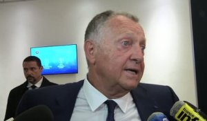 Foot - C1 - OL : Aulas «On y croit»