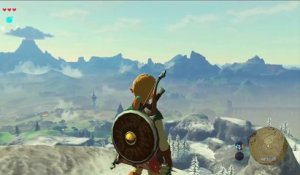 The Legend of Zelda : Breath of the Wild - Clip Paravoile
