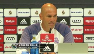 6e j. - Zidane : ''La force de Ronaldo... sa motivation''