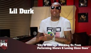 Lil Durk - City Of Chicago Blocking Us From Performing Shows & Losing Close Ones (247HH Exclusive) (247HH Exclusive)