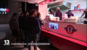 Consommation : le burger superstar