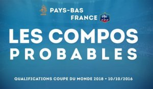 Pays-Bas - France : les compositions probables !