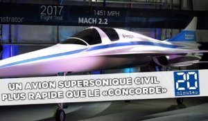 Un avion supersonique civil plus rapide que le «Concorde»