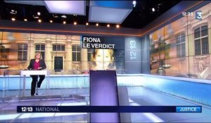 Procès Fiona : le verdict interpelle