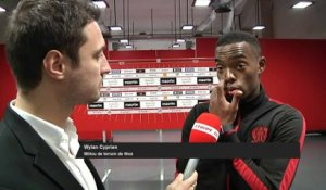 Foot - Nice : Cyprien « On a su terminer ce match »