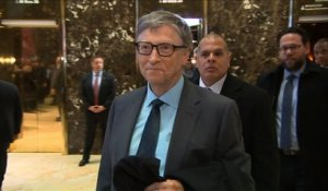 Bill Gates rencontre Donald Trump