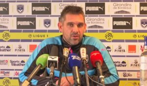 Foot - L1 - Bordeaux : Gourvennec «On est capable de faire de belles choses»