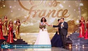 Miss Guyane, Alicia Aylies, a été élue Miss France 2017