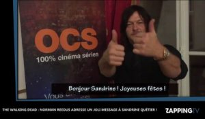 The Walking Dead : Norman Reedus adresse un tendre message à Sandrine Quétier (Vidéo)