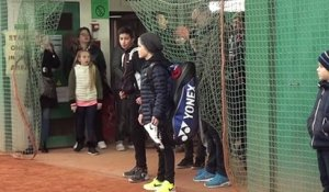 Tennis - Open 10-12 ans - L'Allemand Marc Majdandzic, futur star, enchante à Boulogne-Billancourt